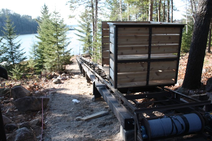 Cottage lifts enterprises where quality and cost for How much does a hillside tram cost